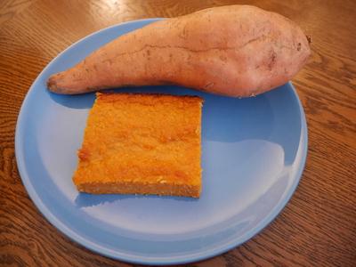Patate douce à la noix de coco et cannelle