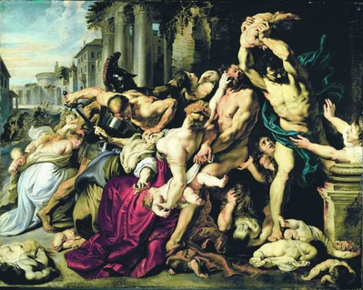 Le Massacre des Innocents - Paul Rubens