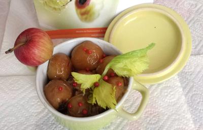 Confit de canard aux pommes