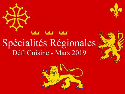 Recettes de spécialités régionales