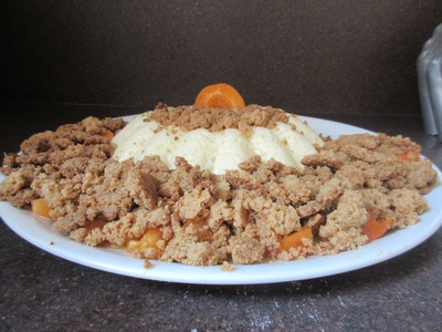 Flan lavande abricot