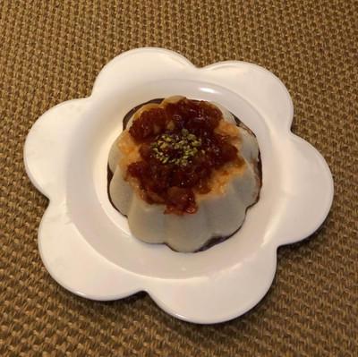 Gâteau de semoule aux coings